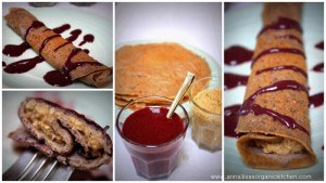 Recipe of the month: Gluten free Buckwheat Crêpes and Blueberry Syrup