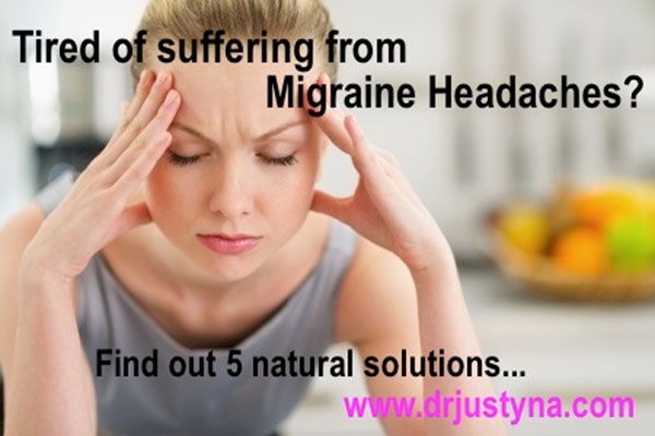 5 Natural Solutions for Migraine Headaches