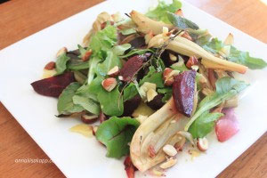 Recipe of the Month: Roasted Beet and Fennel Salad